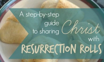 """A step-by-step guide to sharing Christ with """"Resurrection Rolls"""""""